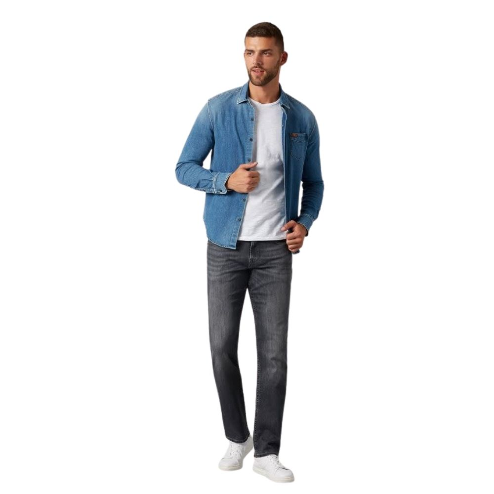 7 FOR ALL MANKIND SLIMMY LUXE PERFORMANCE JEANS GREY