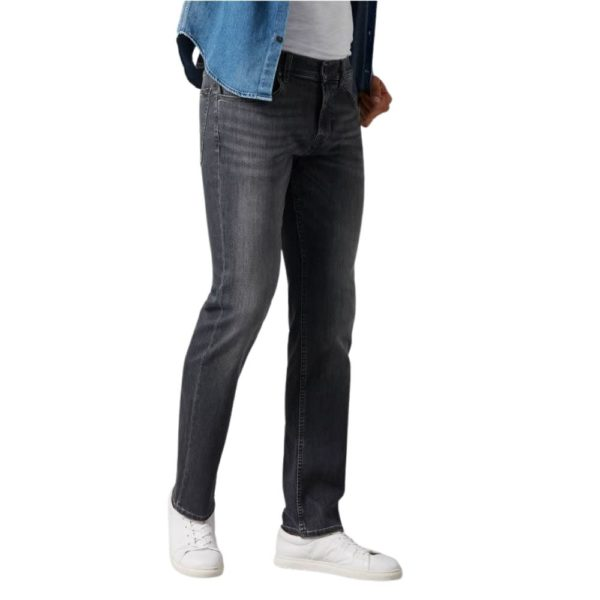 7 FOR ALL MANKIND SLIMMY LUXE PERFORMANCE JEANS GREY1