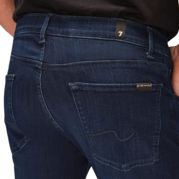 7 FOR ALL MANKIND SLIMMY LUXE PERFORMANCE PLUS DEEP BLUE1