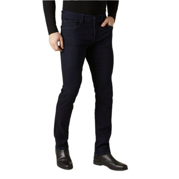 7 FOR ALL MANKIND SLIMMY LUXE PERFORMANCE PLUS RINSE BLUE