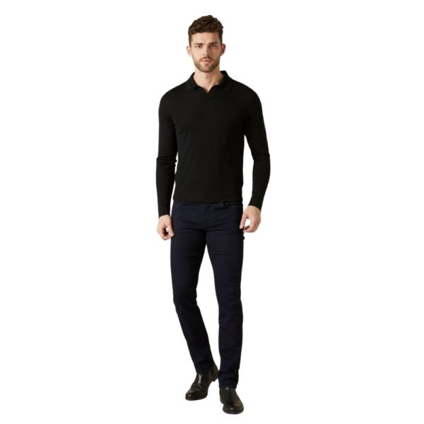 7 FOR ALL MANKIND SLIMMY LUXE PERFORMANCE PLUS RINSE BLUE2
