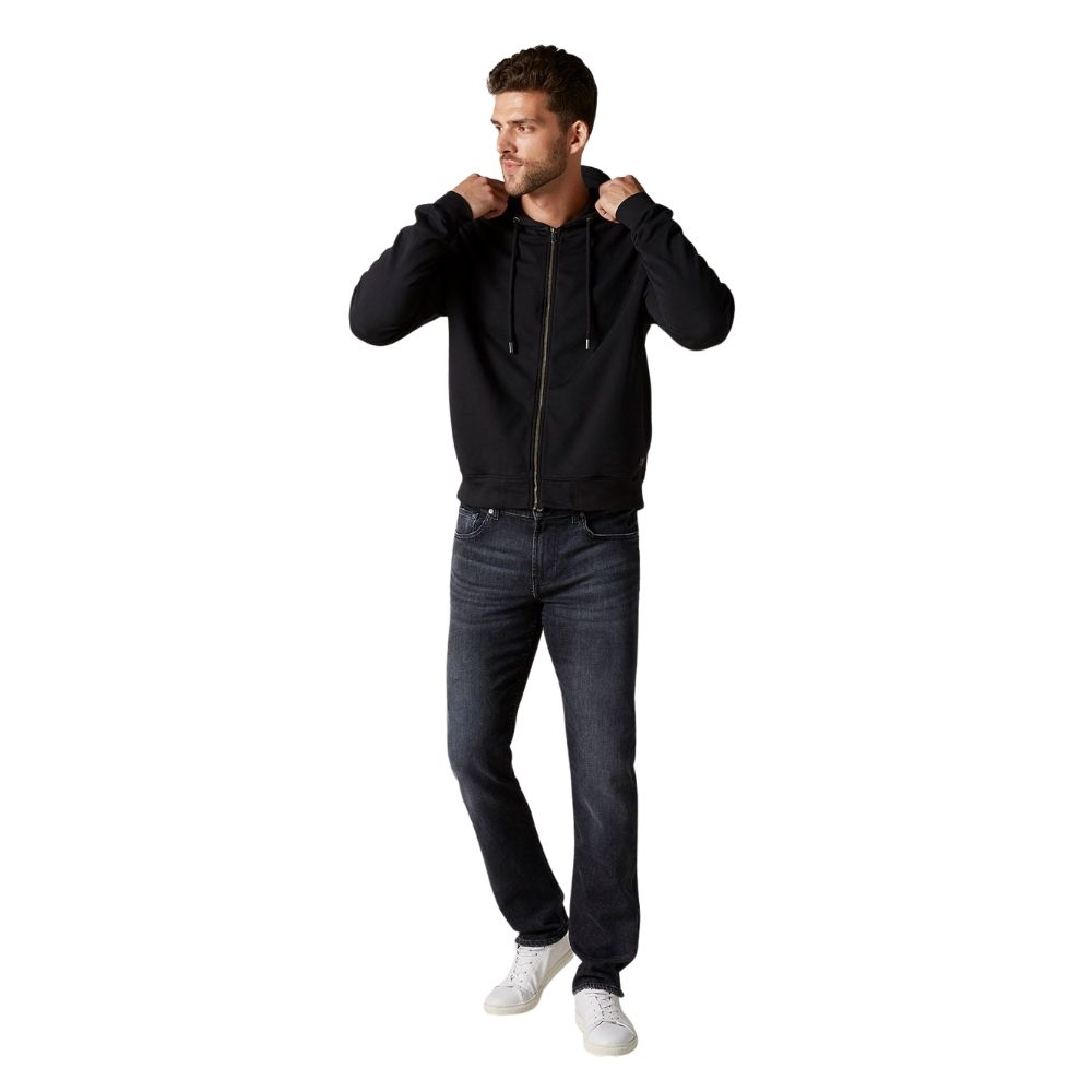 7 FOR ALL MANKIND SLIMMY LUXE PERFORMANCE WASHED BLACK1