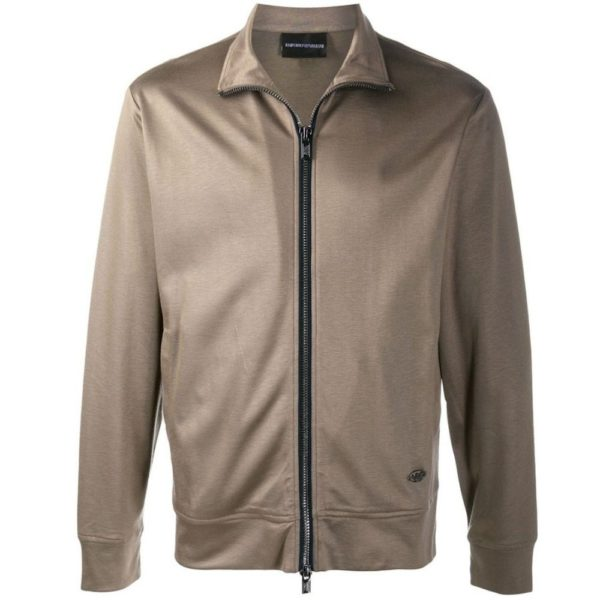 ARMANI TRACKSUIT TOP FULL ZIP Taupe