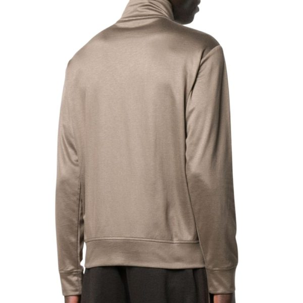 ARMANI TRACKSUIT TOP FULL ZIP Taupe back