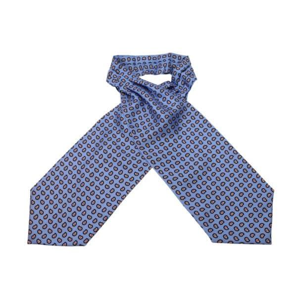 Amanda Christensen Cravat Paisley Blue 1