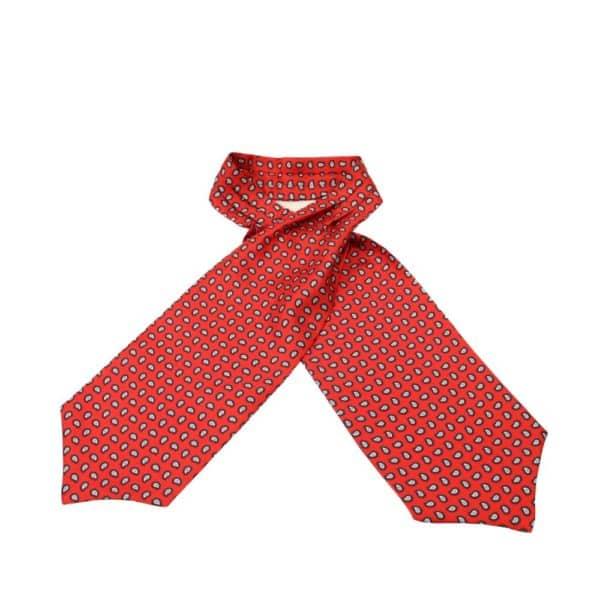 Amanda Christensen Cravat Paisley Red 1