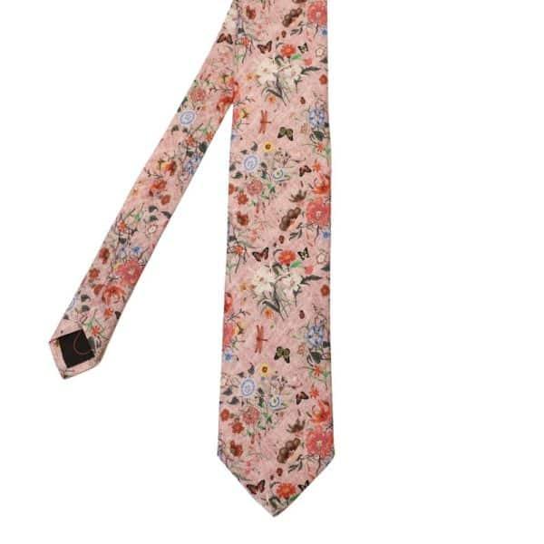 Amanda Christensen Floral Tie pink 1