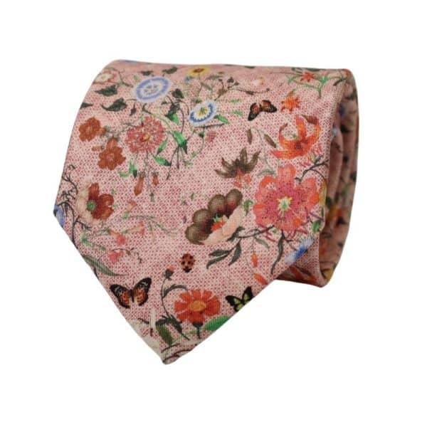 Amanda Christensen Floral Tie pink 2
