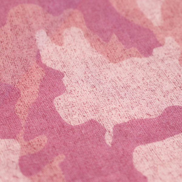 Amanda Christensen pocket square pink linen fabric