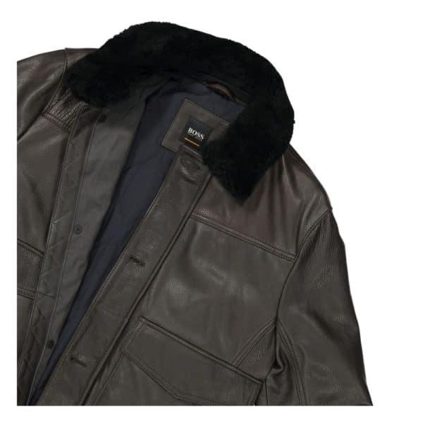 BOSS Aviator Leather Collar