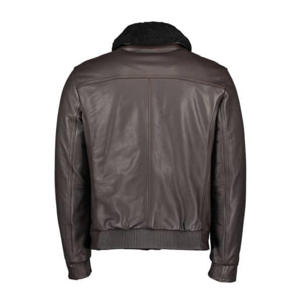 BOSS Aviator Leather back