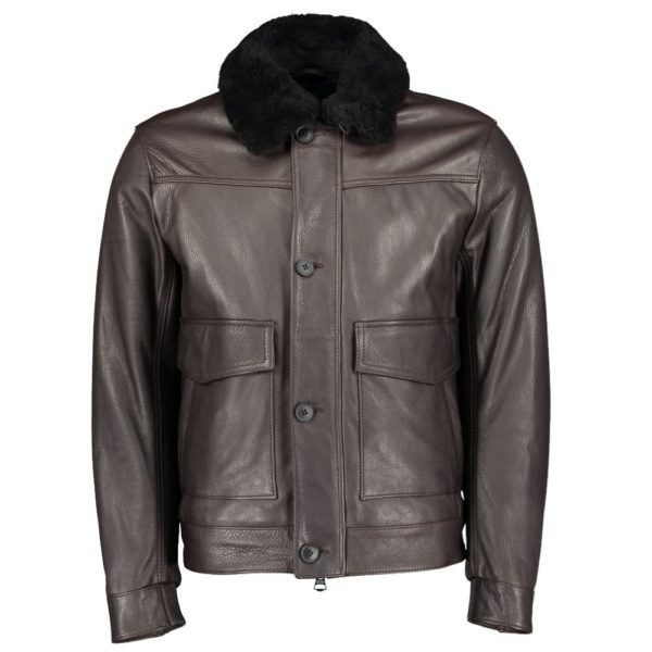 BOSS Aviator Leather front
