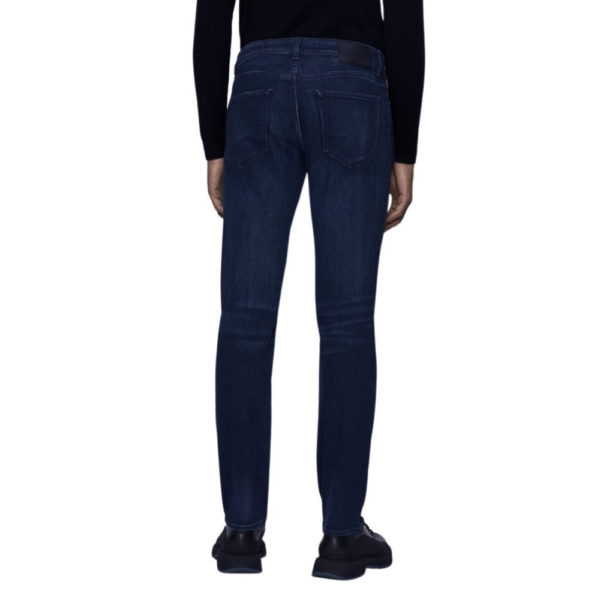 BOSS CASHMERE TAILORED JEAN MID WASH back