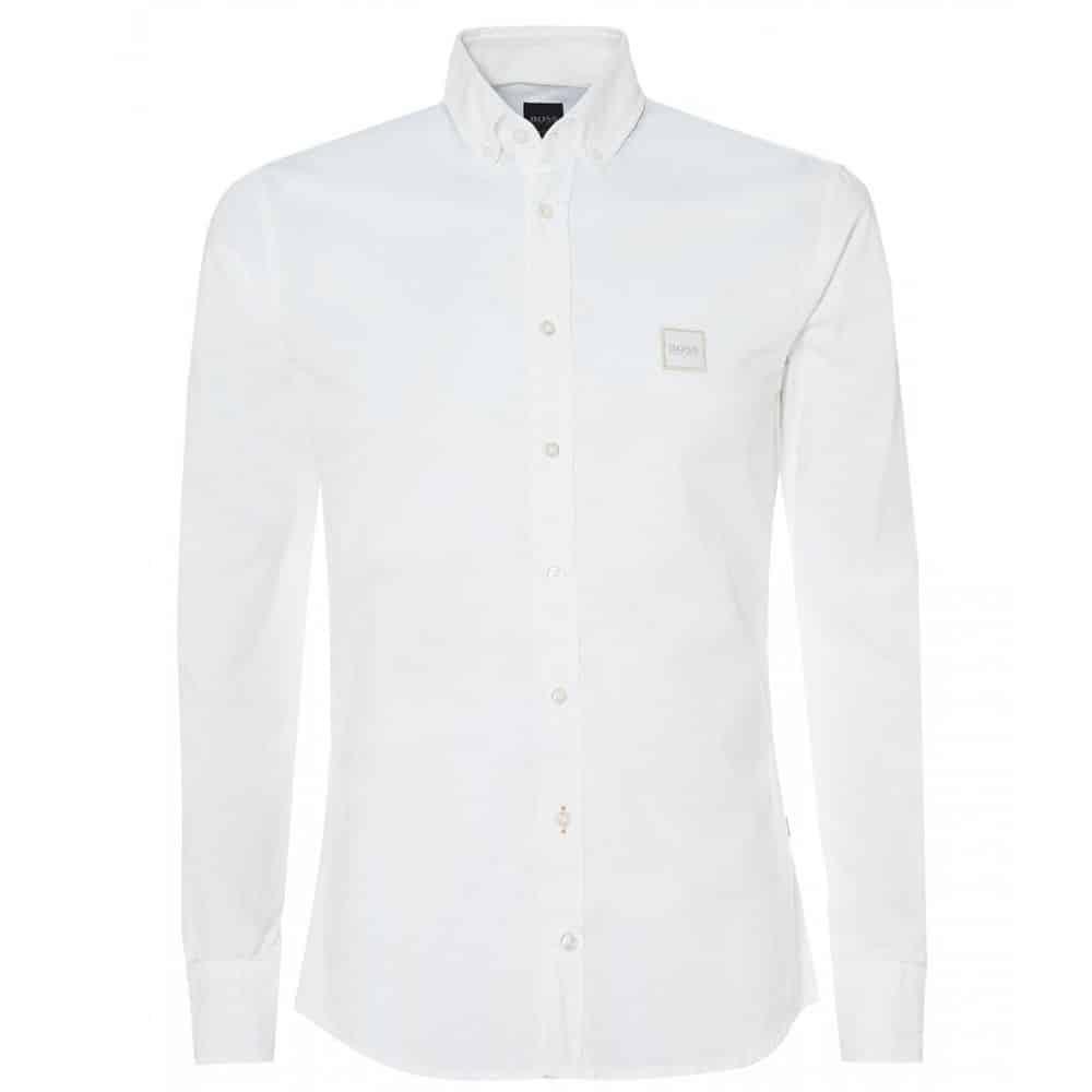 BOSS CASUAL WHITE SHIRT