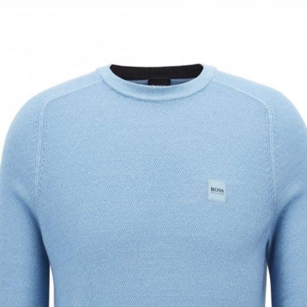 BOSS CREW NECK BLUE 2