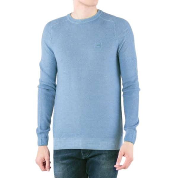 BOSS CREW NECK BLUE jumper 3