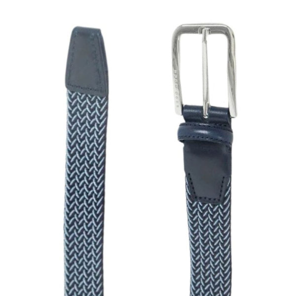 BOSS Clorio Belt Blue and Navy 1