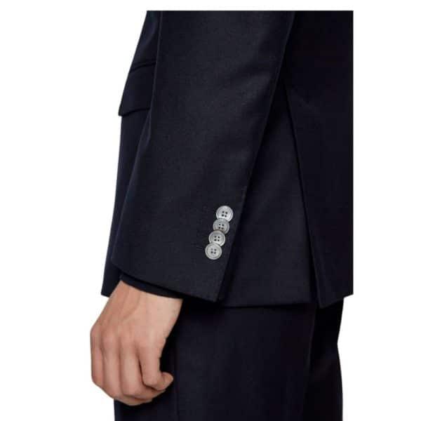 BOSS Hartlay Navy sleeve 2