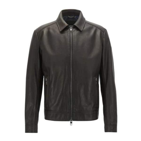 BOSS Juba Leather front