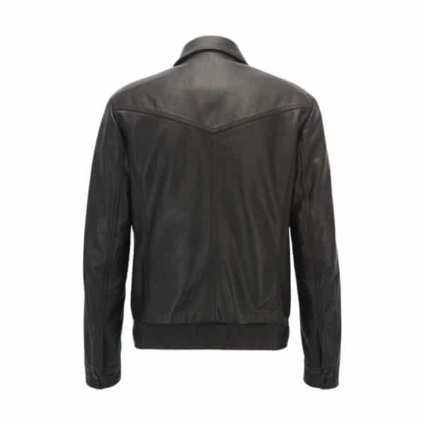 BOSS Juba leather back