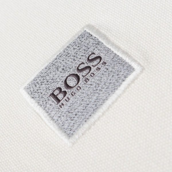 BOSS STRETCH POLO WHITE 2