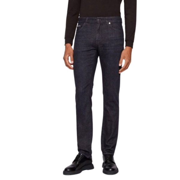 BOSS TAILORED CASHMERE DENIM front