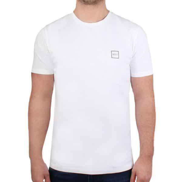 BOSS WHITE T SHIRT 1