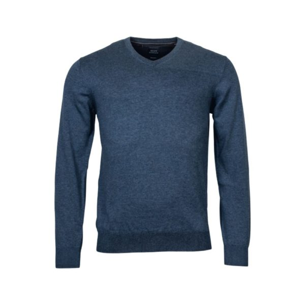 Baileys V Neck Sweater blue