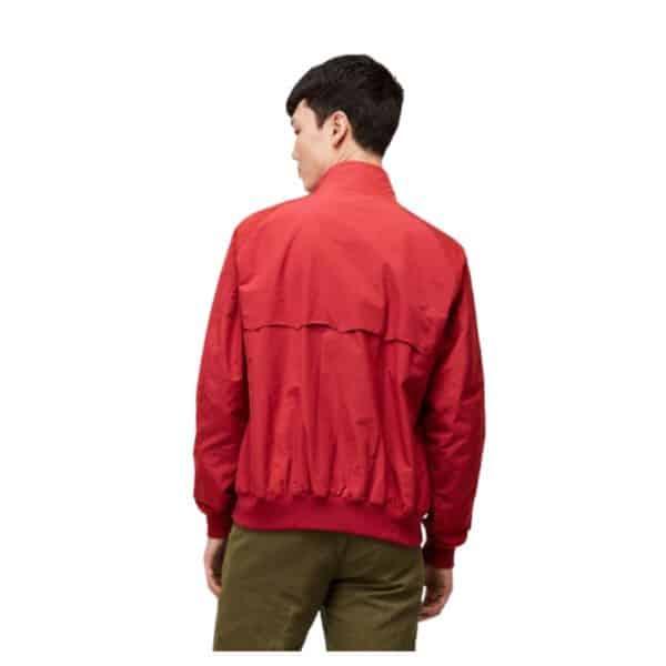 Baracuta G9 Jacket Red Back