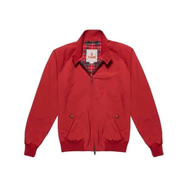 Baracuta G9 Jacket Red Front 2
