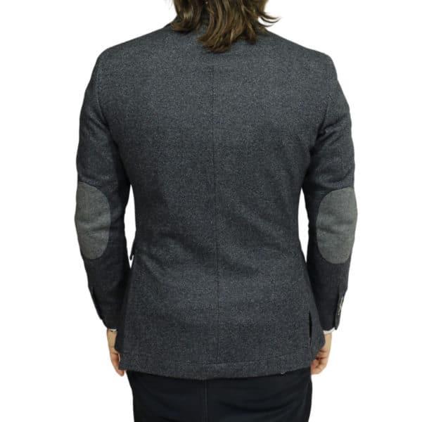 Blazer jacket charcoal back