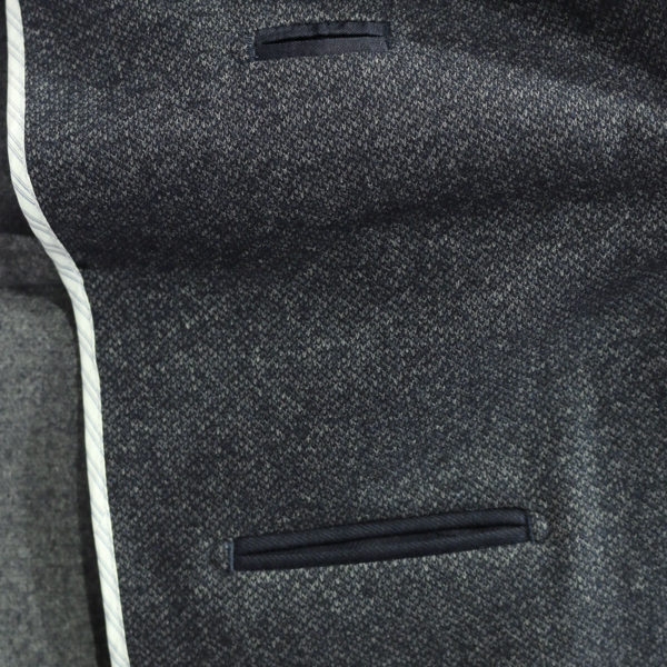 Blazer jacket charcoal lining