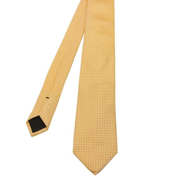 Boss Diamond Tie Yellow 1