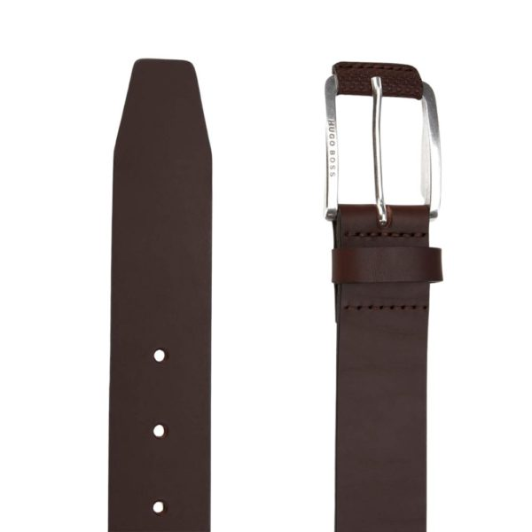 Boss Jory Brown Leather Belt