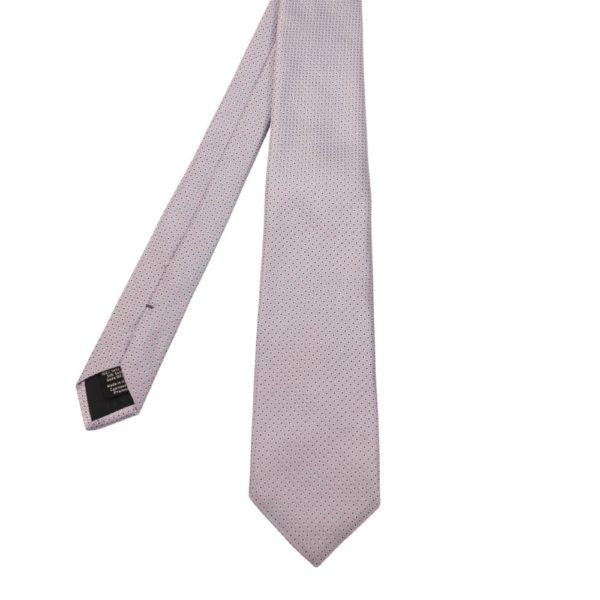 Boss Squares Tie Blue Silver 1