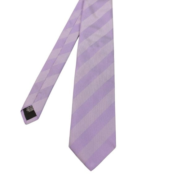 Boss Tie Striped Cool Lilac 1