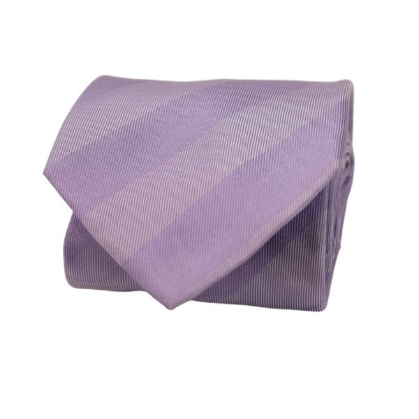 Boss Tie Striped Cool Lilac 2