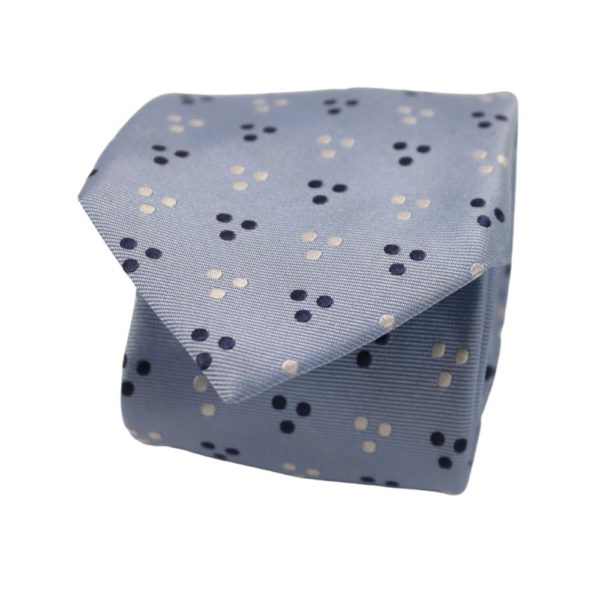 Boss Tri dot Tie Blue 1