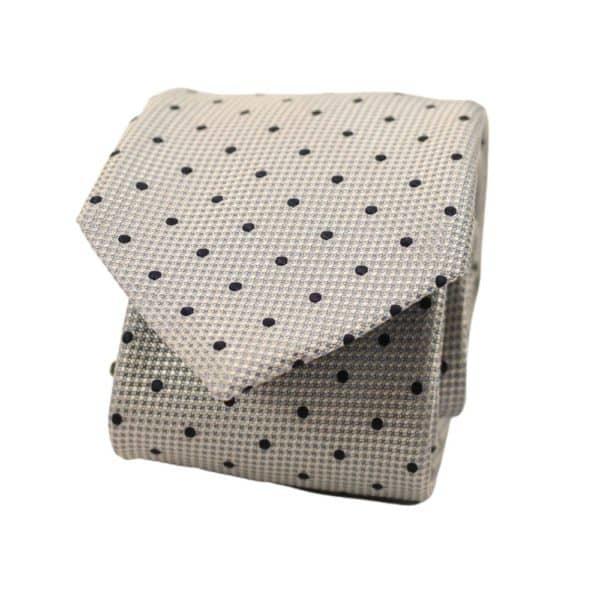Boss tie dots blue 1