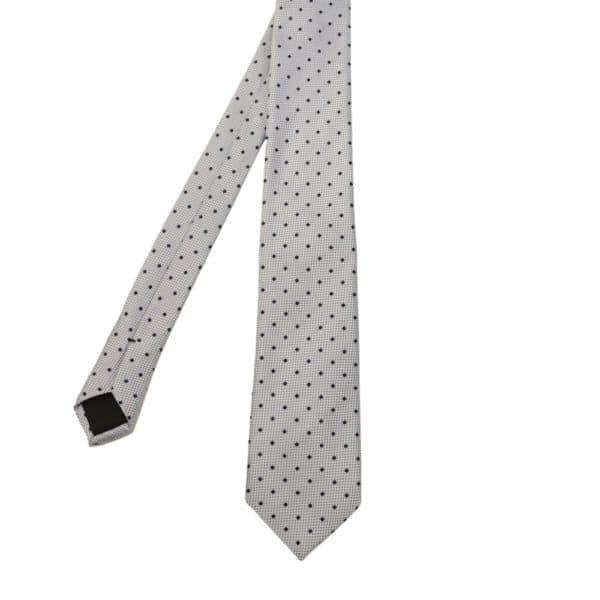 Boss tie dots blue 2