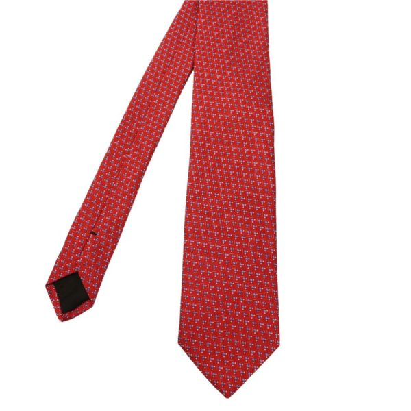 Boss tie squares red 1