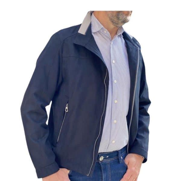 Bugatti Navy jacket front