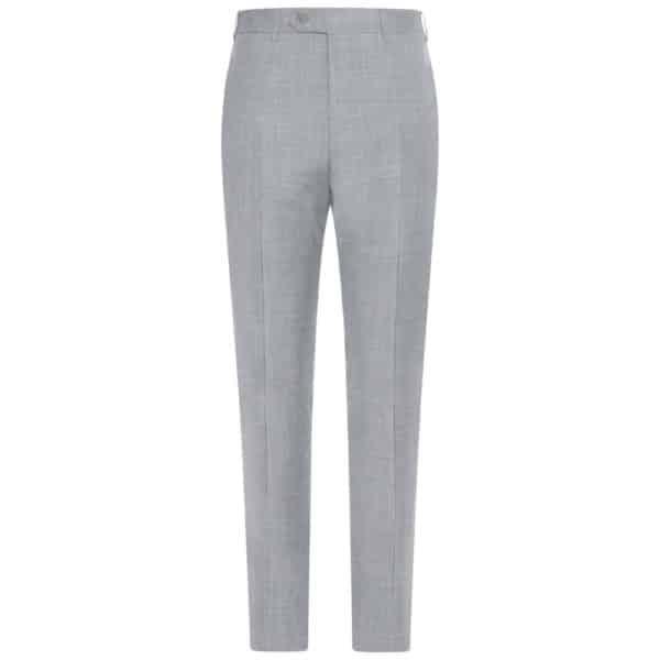 CANALI FORMAL Mèlange Grey Wool Trousers