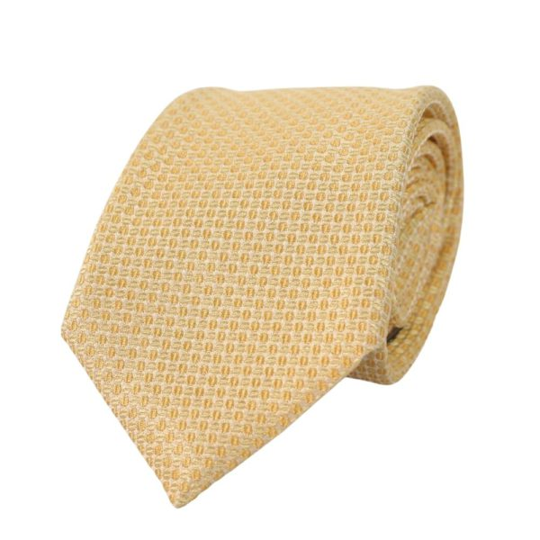 Canali Bean Tie Yellow
