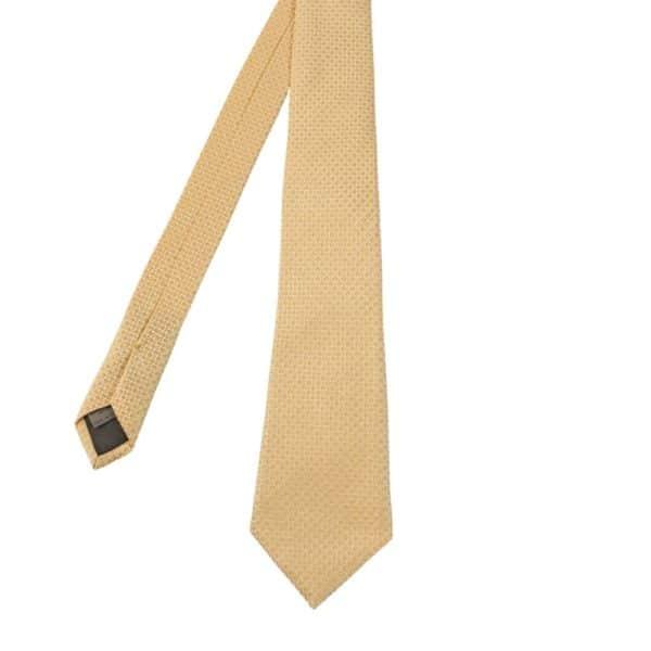 Canali Bean Tie Yellow Main