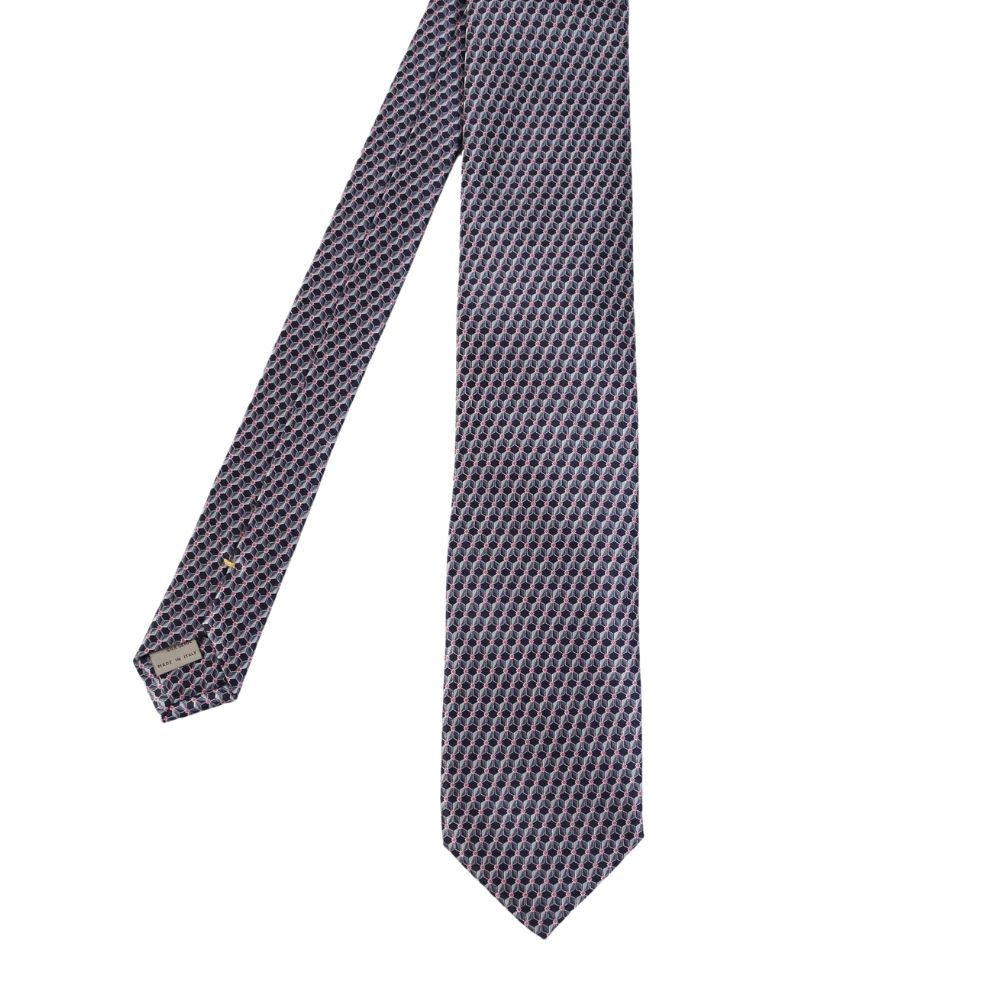 Canali Cube Pattern Tie Main
