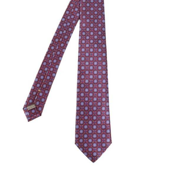 Canali Flower and Diamond Tie
