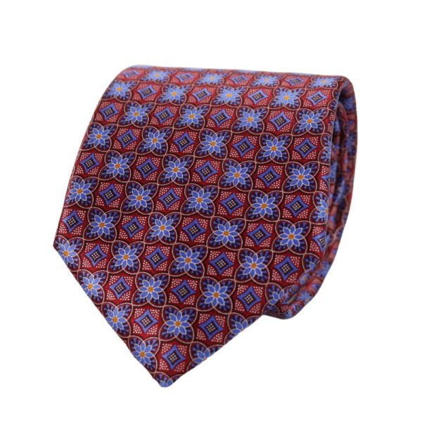 Canali Flower and Diamond Tie main
