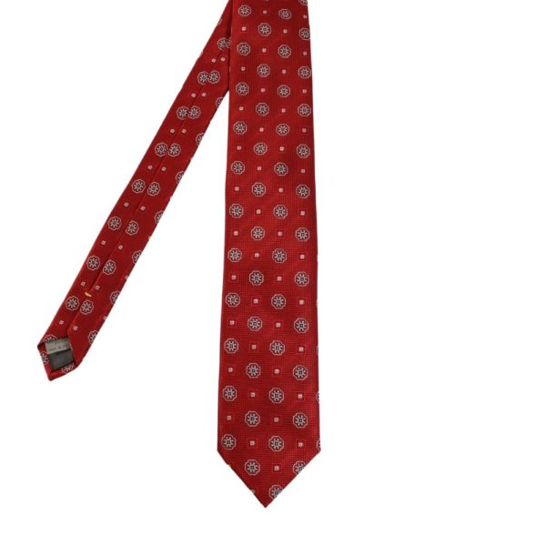 Canali Medallion and Square Tie main