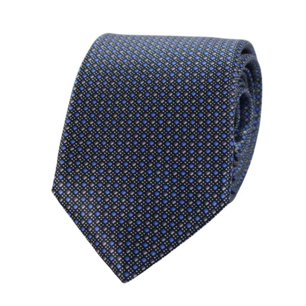 Canali Mini Diamond and Dots Tie